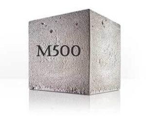 м-500 бетон